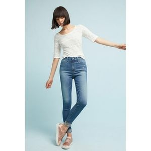 AG Denim The Mila Super High Rise Skinny Jeans